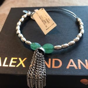 NWT Alex and Ani Artist Palette in Fern, RS